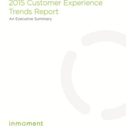 Customer Experience Trends Report