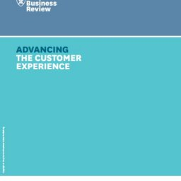 Advancing the customer experience