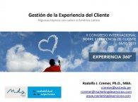 Congreso Internacional | Gestión CX