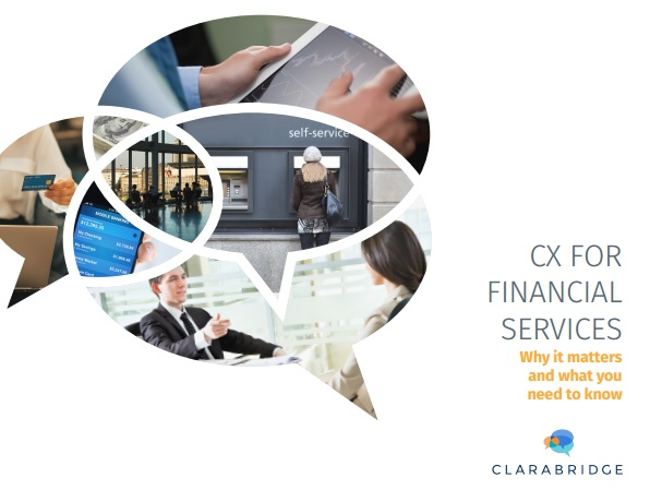 CX for financial services