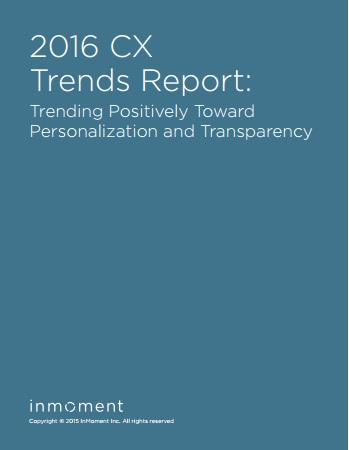 2016 cx trends report