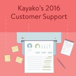 Kayakos: 2016 Customer Support | Asociación DEC