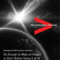 managing the b2b customer esperience
