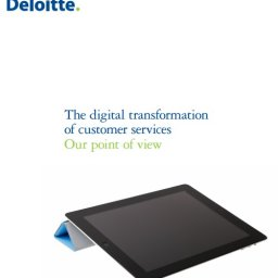 Digital Transformation Deloitte