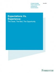 Expectations Experience Forrester