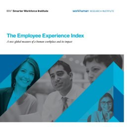 The Employee Experience Index