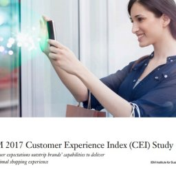 IBM 2017 Customer Experience Index CEI Study