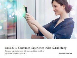 IBM 2017 Customer Experience Index CEI Study