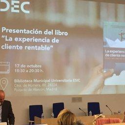 Presentacion libro experiencia de cliente rentable