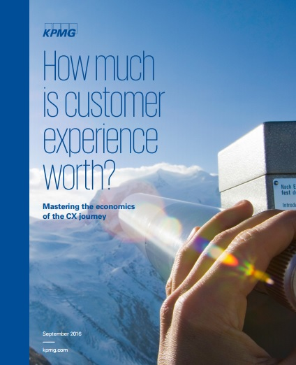 customer experience worth KPMG