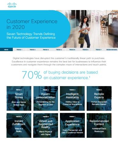 Customer Experience in 2020 Cisco