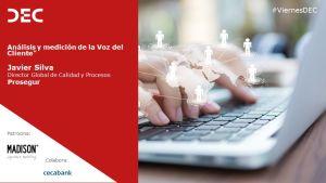Presentación Javier Silva | Viernes DEC