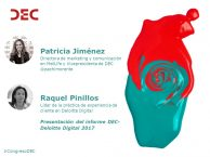 Patricia Jiménez y Raquel Pinillos | Presentación DEC