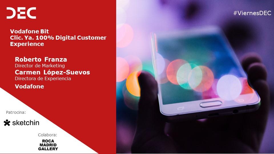 Presentación Vodafone   Viernes DEC Service Design, innovando en el negocio