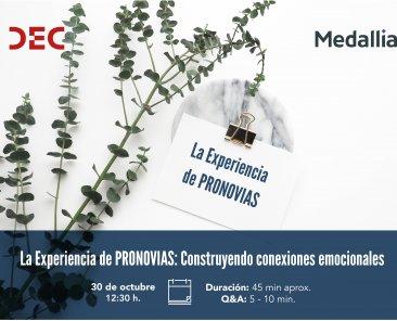 Webinar Pronovias CX