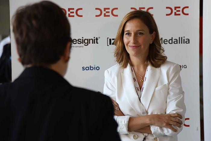 Entrevista en el Congreso DEC