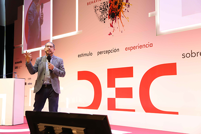 Felipe Romero en el Congreso DEC
