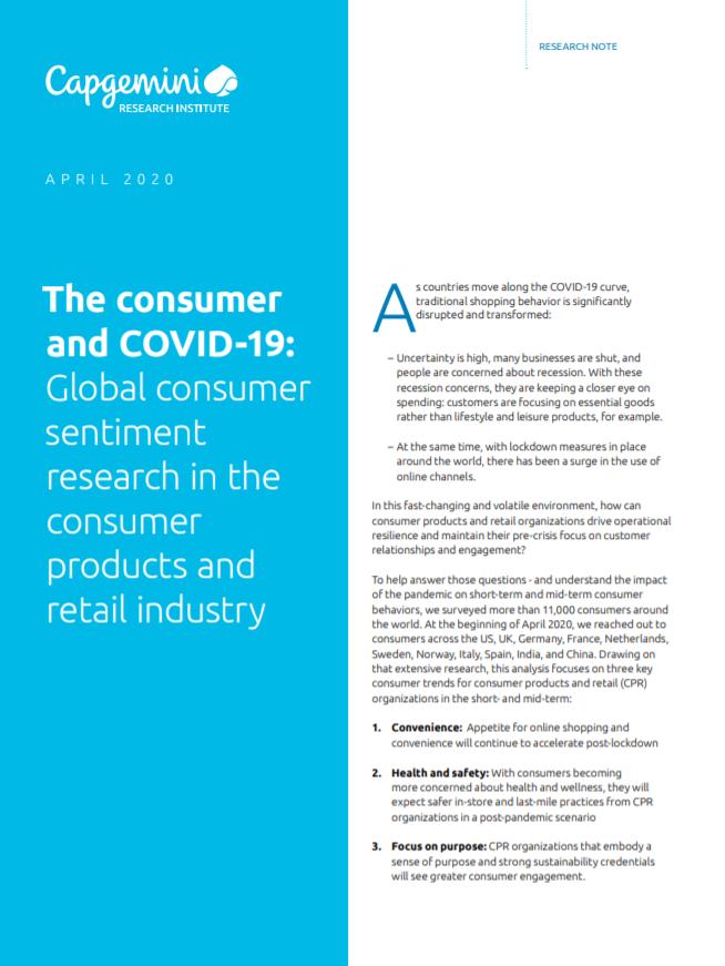 Informe CX - COVID19 - el consumidor y el COVID19