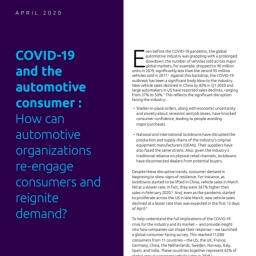 Informe CX - COVID19 y su impacto en el sector de la automocion