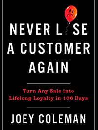 Never Lose a Customer Again - Libro Experiencia de Cliente