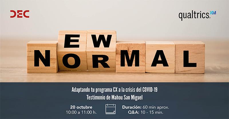 DEC Webinar - Qualtrics - Adaptando tu programa de CX