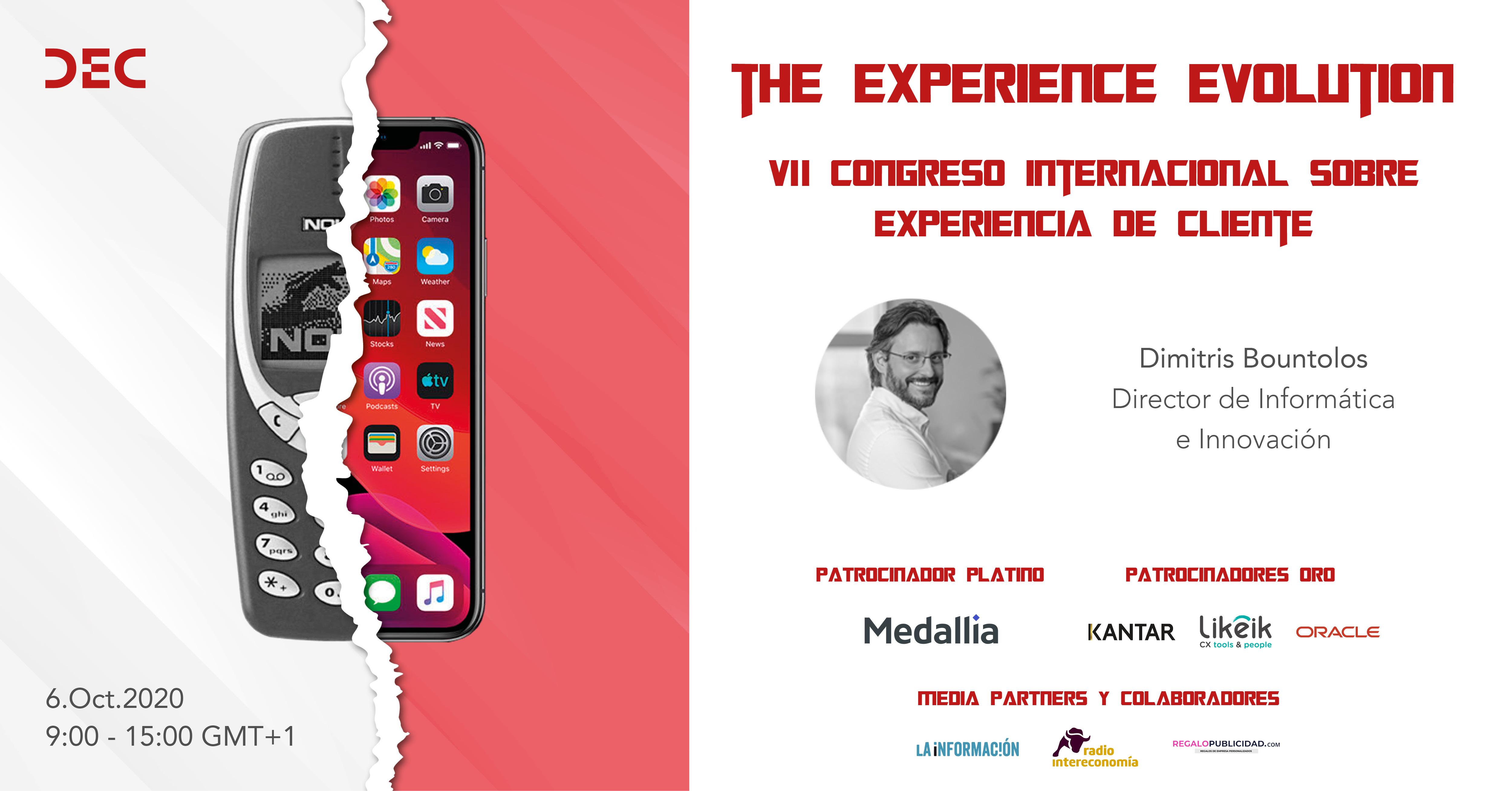 Dimitris Bountolos en el VII Congreso DEC - Presentacion