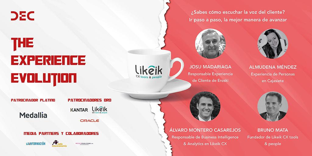 Un cafe con Likeik en el VII Congreso DEC