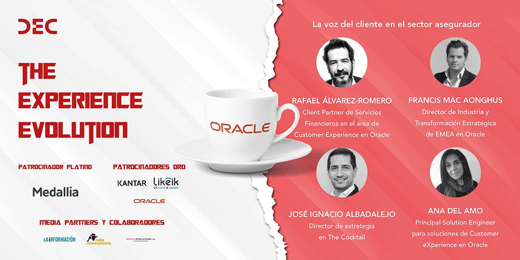 Un cafe con Oracle en el VII Congreso DEC