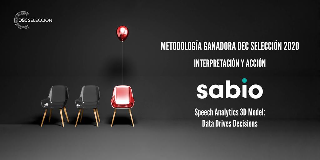 Speech Analytics 3D Model - DEC Selecion - Sabio