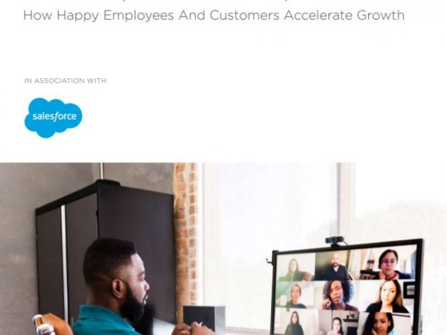 The experience equation - Informe CX Forbes Salesforce