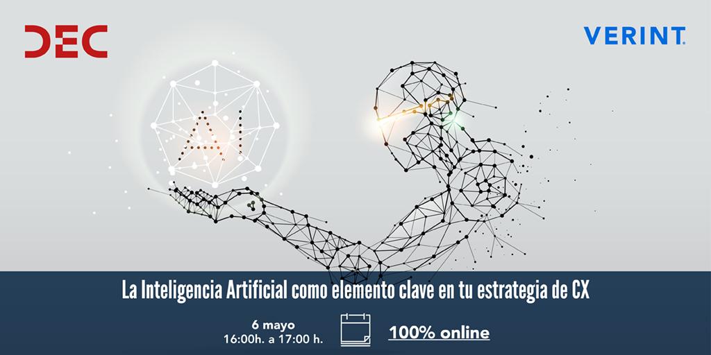 La Inteligencia Artificial como elemento clave en tu estrategia de CX