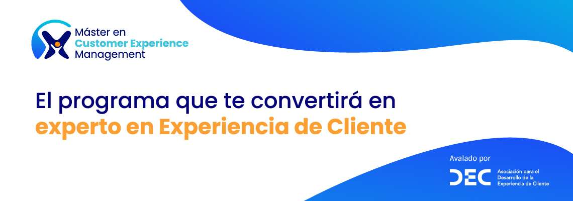 Master en Customer Experience Management