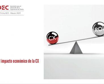 Portada - Ficha tecnica Viernes DEC El impacto economico de la CX