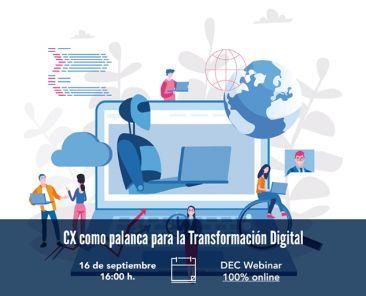 CX como palanca para la transformacion digital